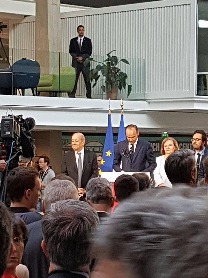 Visite du Premier Ministre à STATION F