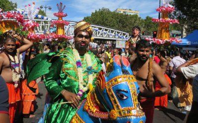 Au coeur du festival Ganesh à Paris