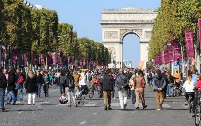 Balade dans Paris sans voiture